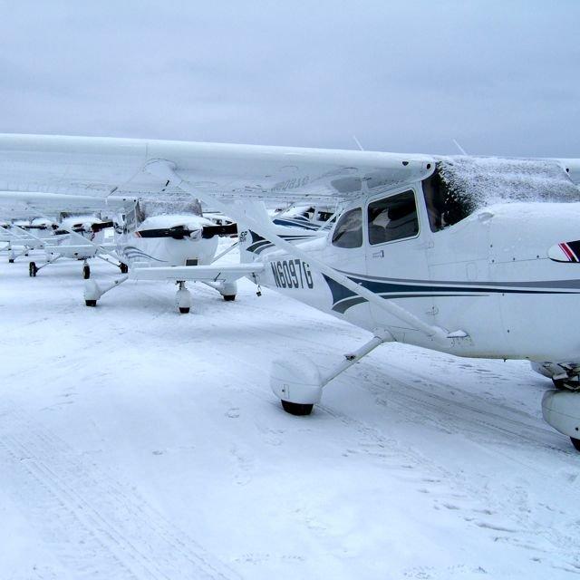 Flyvning om vinteren