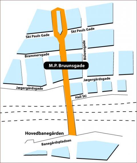M P Bruunsgade Pa Frederiksbjerg