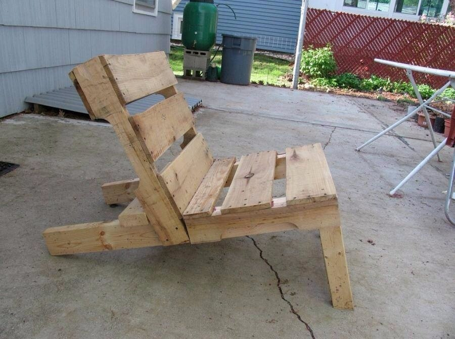 Upandrecycling - Sillon hecho con palets ...